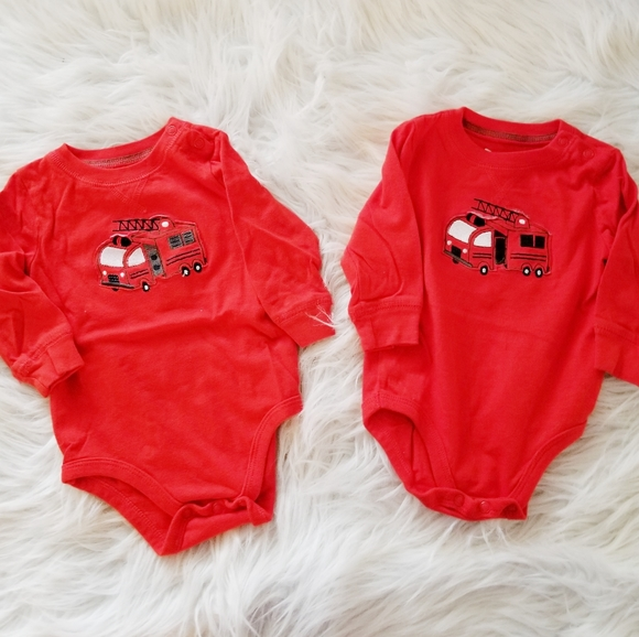 jumping beans Other - Fire truck tops baby great for twins
